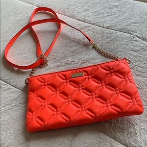 Kate Spade orange crossbody